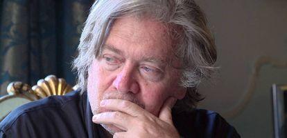 Steve Bannon, en el documental.