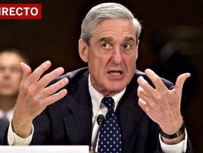 Retransmisión en directo de la comparecencia de Mueller.