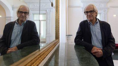 El director de cine Ken Loach, retratado en el festival de cine de San Sebastián, el pasado septiembre.