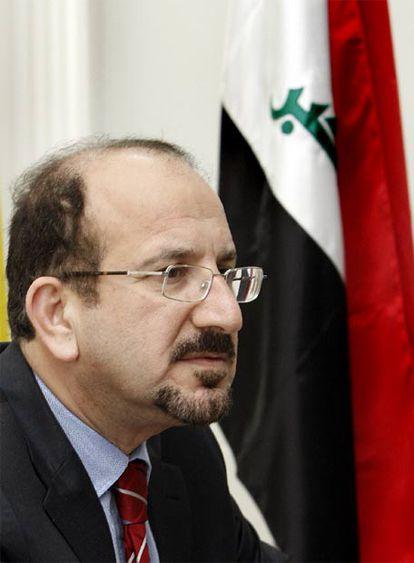 Safaldín Mohamed al Safi, ministro de Justicia de Irak.