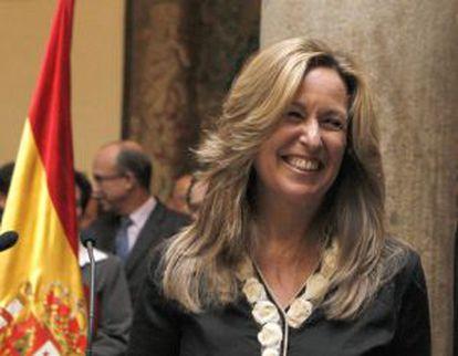 La exministra de Exteriores, Trinidad Jiménez.