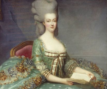 Retrato de Maria Antonieta obra de François Hubert Drouais.