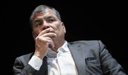 Correa, en octubre pasado.