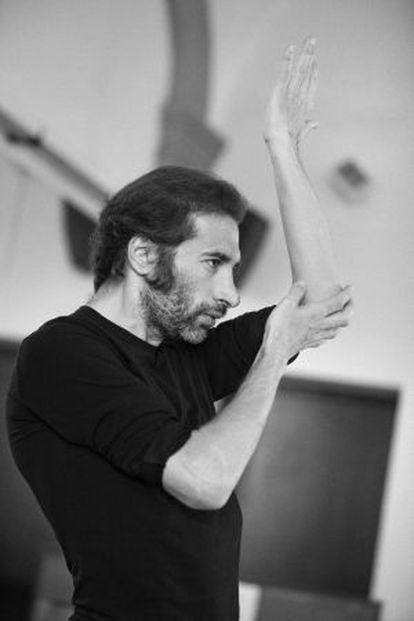 El bailarín Israel Galván.
