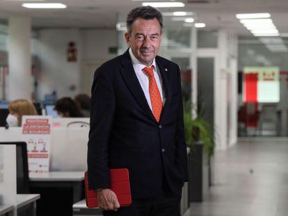 Peter Maurer, este martes en la sede de la Cruz Roja en Madrid.