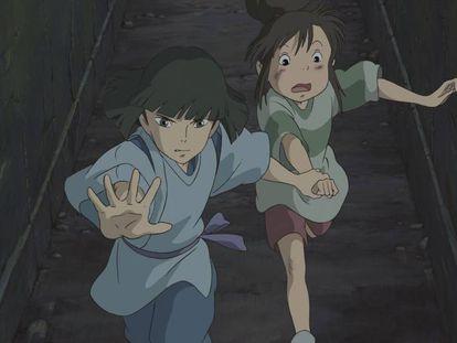 Imagen promocional de 'El viaje de Chihiro'.