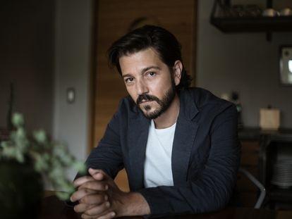 El actor Diego Luna en Ciudad de México, en julio de 2020.
