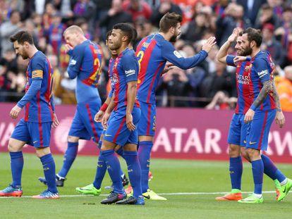 El Barcelona golea al Athletic de Bilbao