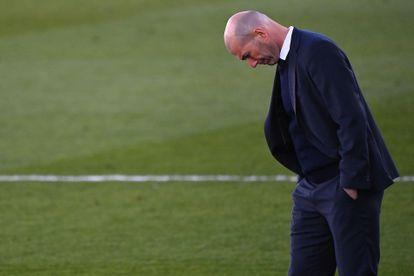 Zinedine Zidane, durante el Real Madrid-Elche.