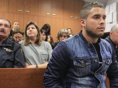 José Fernando Ortega Mohedano, durante el juicio.