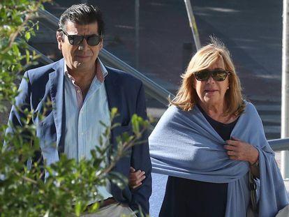Cristina Ordovás Gómez-Jordana llega este lunes a la Audiencia Provincial de Madrid.
