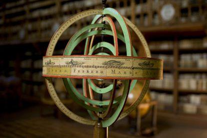 Imagen de la biblioteca de la Universidad de Salamanca.