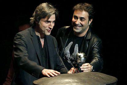 Alberto Sanjuán durante la ceremonia de entrega de la decimotercera edición de los Premios Max