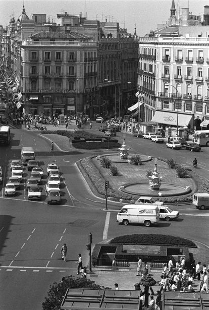 La Puerta del Sol, en 1984.