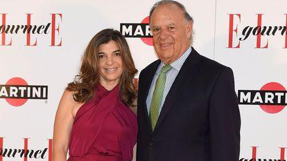 Carlos Falcó y su hija Xandra, durante un evento en Madrid.