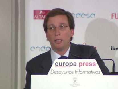 """El alcalde afirma que """"el espacio más emblemático de la ciudad de Madrid"""" quedará """"definitivamente"""" cerrado al coche"""