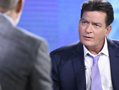 Charlie Sheen el pasado noviembre en el programa televisivo 'Today'.