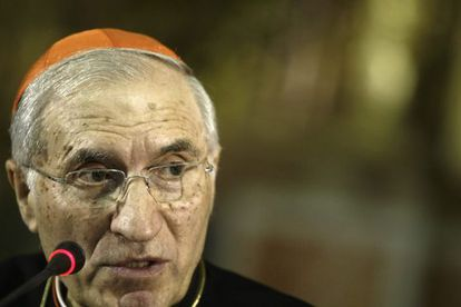 El cardenal Antonio Rouco Varela, en el Oratorio de San Felipe Neri en Cádiz
