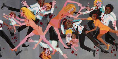 La obra 'Die' (1967)', de Faith Ringold.