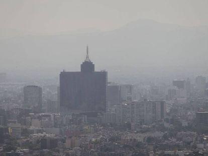 Contaminación en la Ciudad de México.