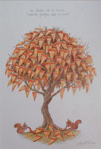 'El árbol de la pizza'.