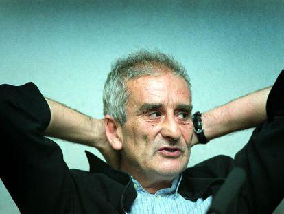 Leopoldo María Panero, en una imagen de 2004.