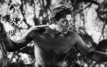 En 1932, con el estreno de 'Tarzan', Jonnhy Weismuller se convertía en la primera estrella de Hollywood sin pelo en pecho. Un pionero.