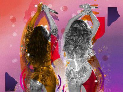 ¿Por qué incomodan los culos de JLo y Shakira?.