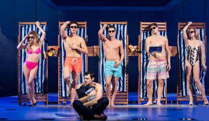Escena del montaje de Broadway del musical de 'American Psycho'