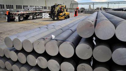 La planta de Alcoa en Carolina del Sur (EE UU).
