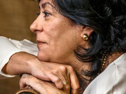 La escritora y periodista Almudena Grandes.