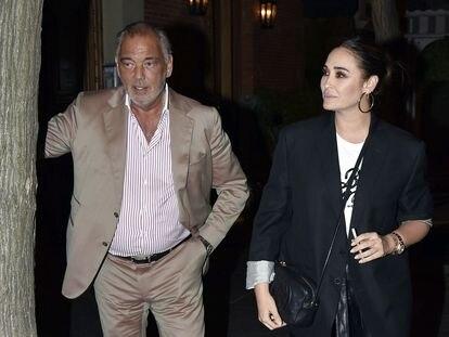 Vicky Martin Berrocal y Joao Viegas, en mayo en Madrid.