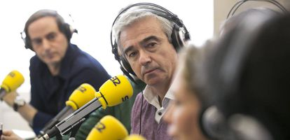Carles Francino durante una emisión de 'La Ventana'.