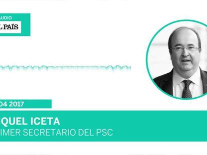 "Iceta, sobre el 'no' del PSC a Rajoy: ""Fue un accidente, no va a volver a pasar"""