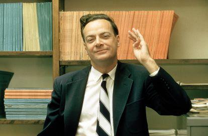 El premio Nobel Richard P. Feynman.