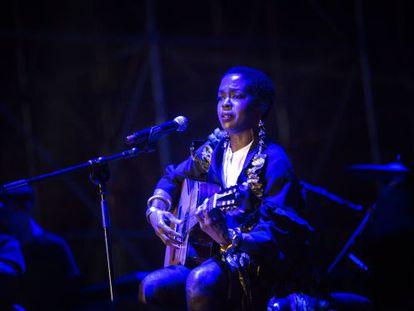 Lauryn Hill, en el Cruïlla, se saboteó a sí misma ante una multitud.