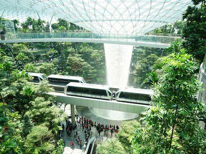 Transporte público en Singapur.