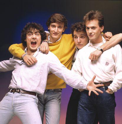 El grupo Hombres G.