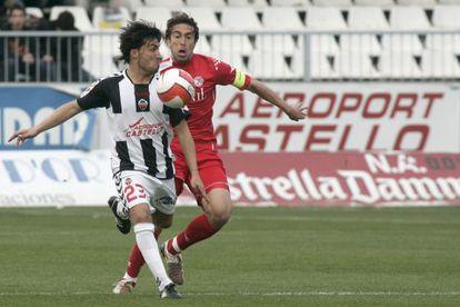 Aerocas patrocinó al CD Castellón en la temporada 2008.
