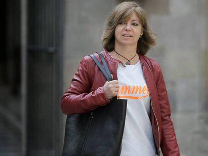 Meritxell Borràs, exconsejera de Gobernación de la Generalitat de Cataluña.