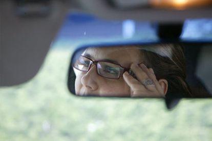 Fatima Ghailan ha sido amenazada por integristas, entre otras cosas, por conducir.