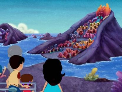 Fotograma de 'La increíble historia del niño de piedra'.