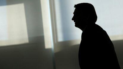 Jair Bolsonaro, presidente de Brasil, en Brasilia.