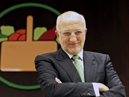 El presidente de Mercadona, Juan Roig, en marzo de 2013.