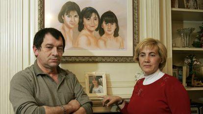 Manuel Blanco y Olga Puig, padres de Eva, en una imagen de archivo.
