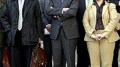 El presidente de la Comunidad de Navarra, Miguel Sanz