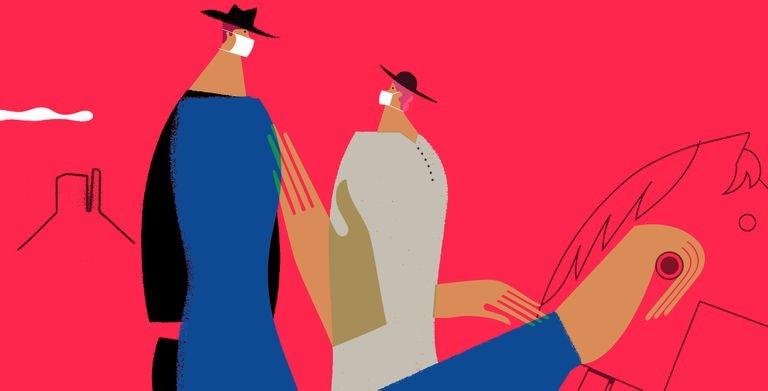 La nueva normalidad. Ilustración: JUÁREZ CASANOVA