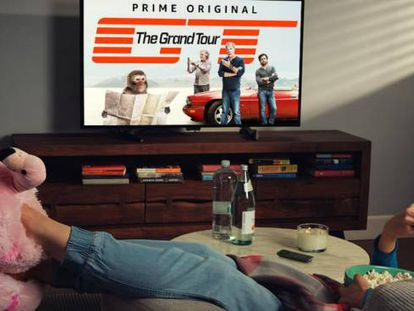 Consumidora de televisión en línea ('streaming')