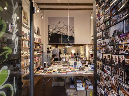 La librería 'La memòria', este martes.