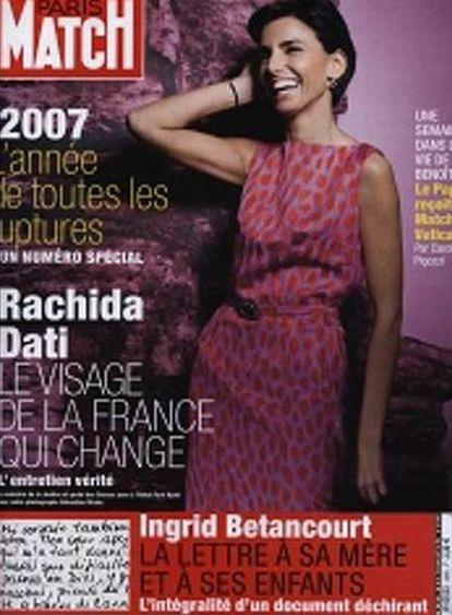 La portada de <i>Paris-Match.</i>